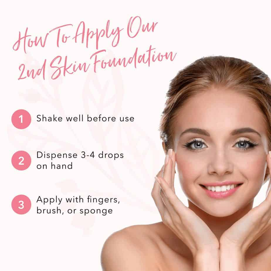 Fruit Pigmented® 2Nd Skin Foundation Buildable Fruit Pigmented®Make Up