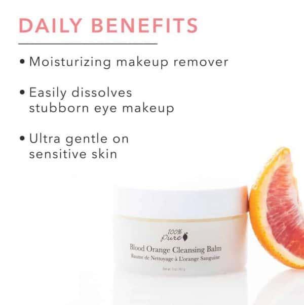 Dry Skin Blood Orange Cleansing Balm