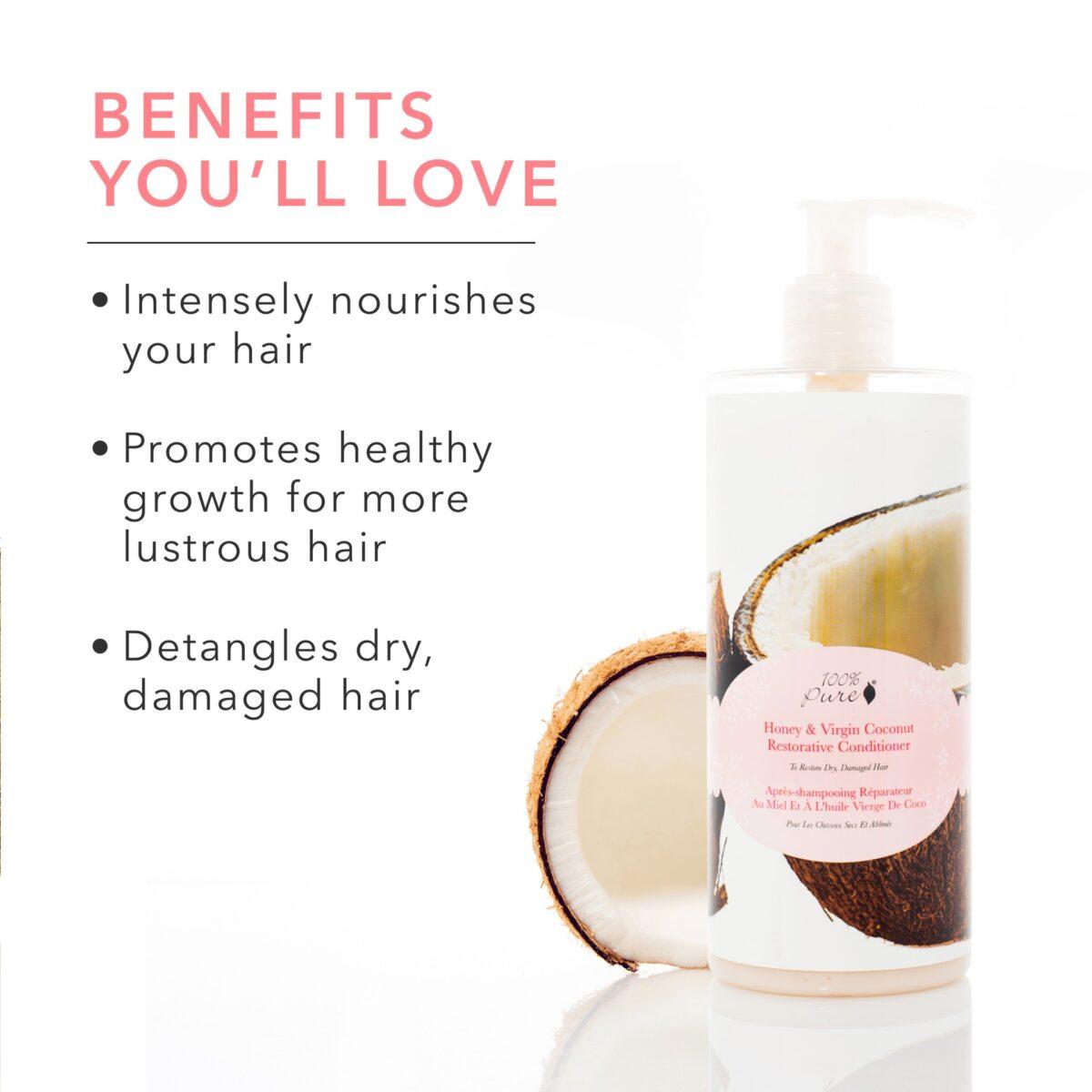 Honey & Virgin Coconut Conditioner Conditioner Hair &Amp; Body