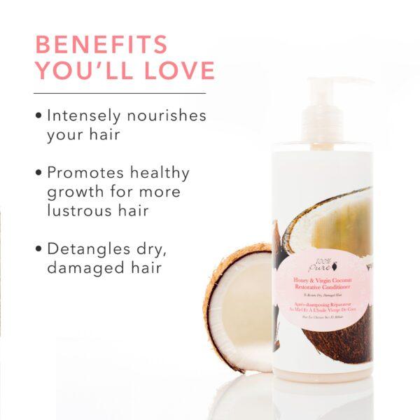 Honey & Virgin Coconut Conditioner Conditioner Hair & Body