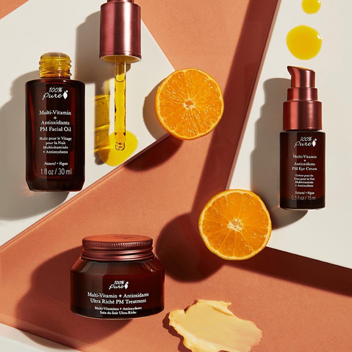 Multi-Vitamin + Antioxidants Ultra Riché Pm Treatment Moisturizer Anti-Aging Anti-Aging