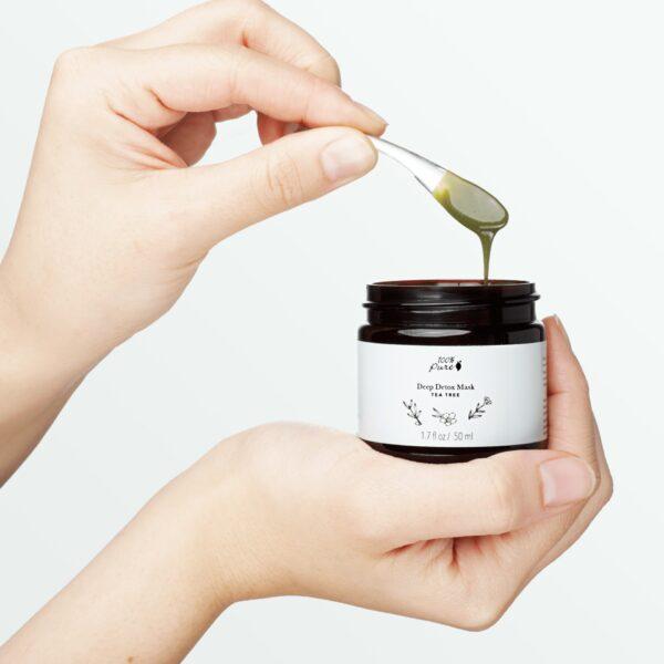 Tea Tree Deep Detox Mask Acne Skin Acne