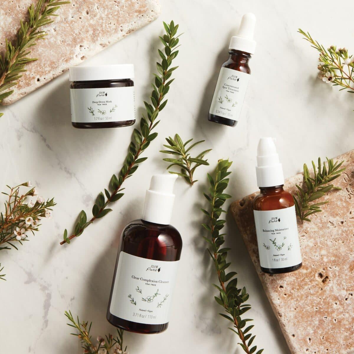 Tea Tree Clear Complexion Cleanser Acne Skin Acne