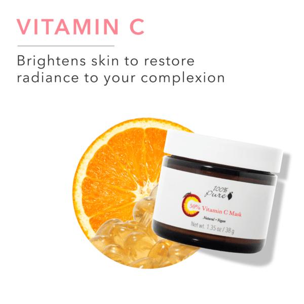 Vitamin C Mask Brightening Anti-Aging