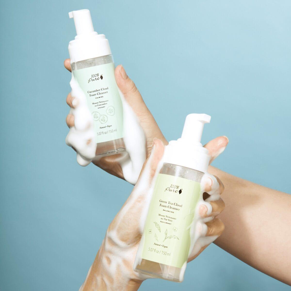 Cucumber Cloud Foam Cleanser All Skin Types Dry Skin