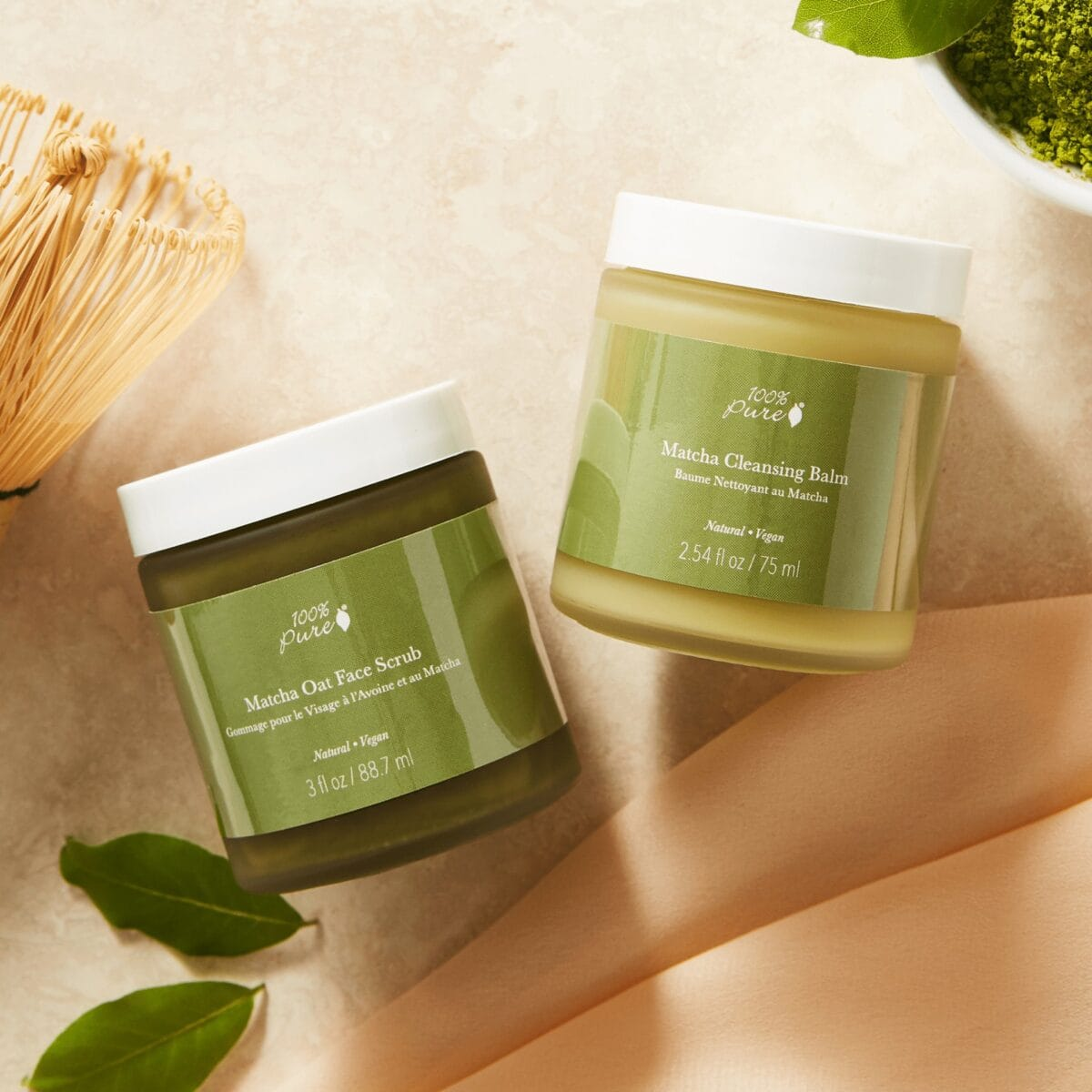 Matcha Cleansing Balm Calming Acne