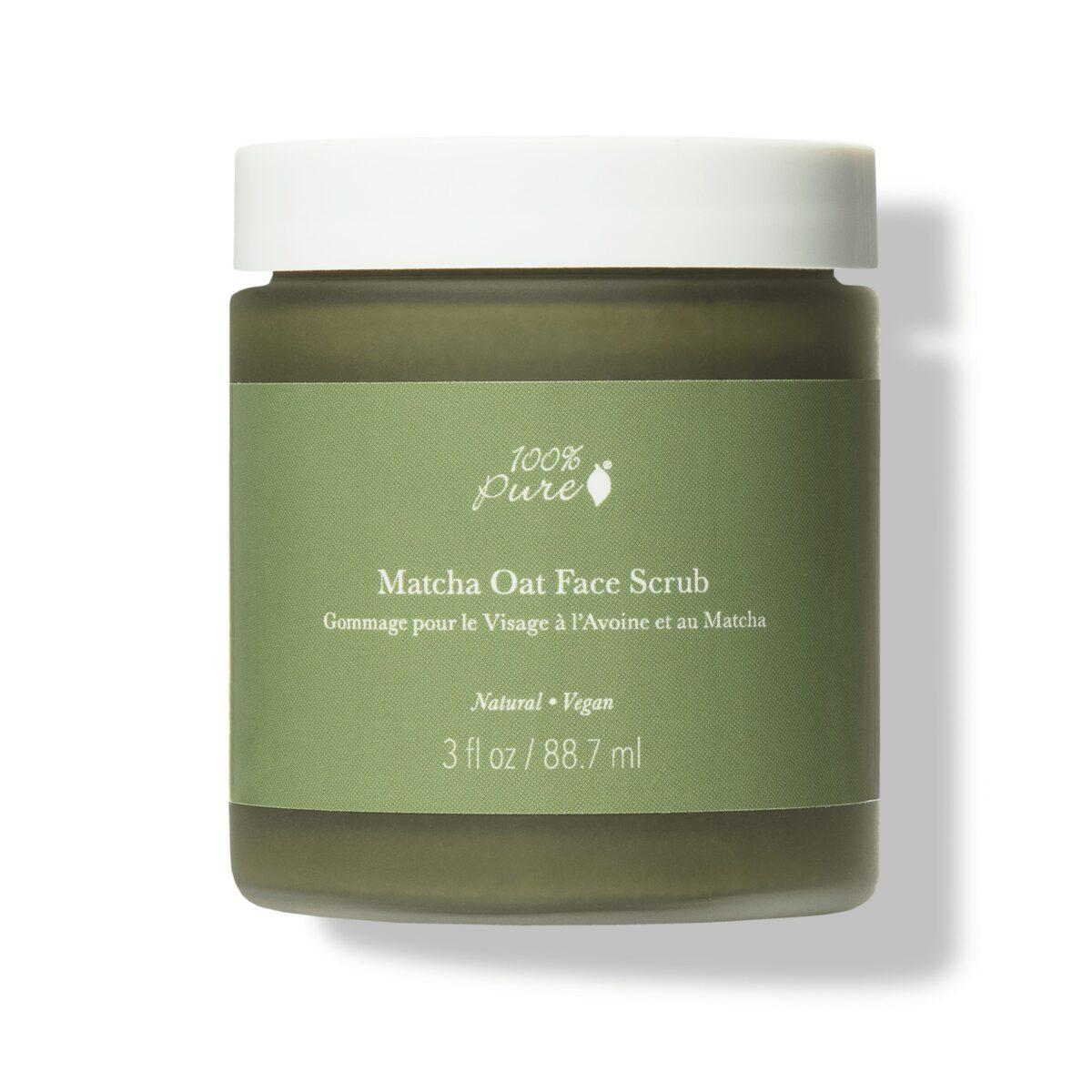 Matcha Oat Face Scrub – Exfoliate Brighten Scrub &Amp;Amp; Mask