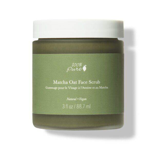 Matcha Oat Face Scrub – Exfoliate Brighten Scrub & Mask