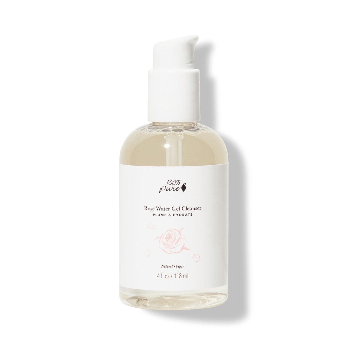 Rose Water Gel Cleanser All Skin Types New Launch